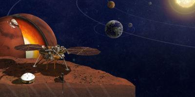 Il robot InSight è partito verso Marte