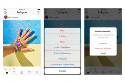 """Instagram permetterà di """"silenziare"""" i profili che si seguono"""