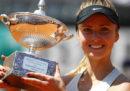 Elina Svitolina ha vinto il torneo femminile degli Internazionali d'Italia