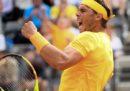 Rafael Nadal ha vinto gli Internazionali d'Italia per l'ottava volta in carriera