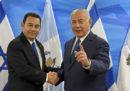 Anche il Guatemala ha spostato la sua ambasciata in Israele a Gerusalemme