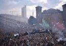 Le foto dei festeggiamenti della Juventus