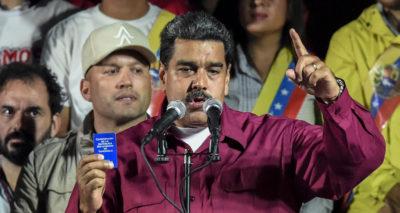 Nicolás Maduro è stato rieletto presidente del Venezuela