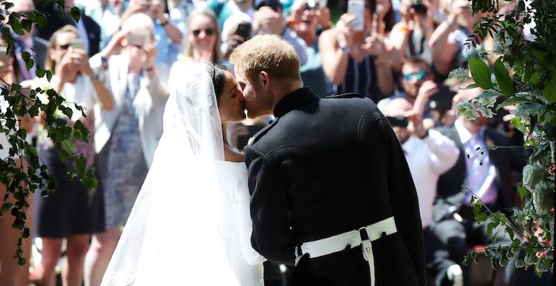 "Matrimonio Meghan : Foto e video del ""royal wedding tra il principe harry"