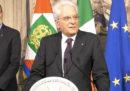 """Si farà un governo """"neutrale"""", dice Mattarella"""