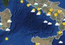 Le previsioni meteo per domani, lunedì 14 maggio
