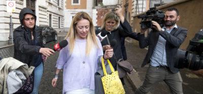 Meloni dice che Di Maio le ha chiesto di sostenerlo come presidente del Consiglio