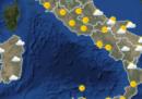 Le previsioni meteo per giovedì 31 maggio