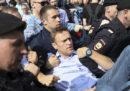 Le foto delle proteste contro Putin in Russia