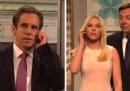 Lo sketch di Saturday Night Live con Scarlett Johansson, Ben Stiller e Stormy Daniels