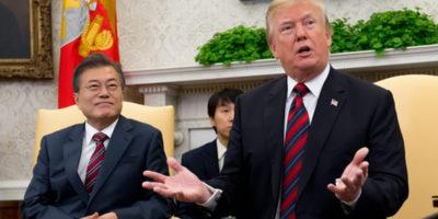 Donald Trump ha detto che l'incontro a Singapore tra lui e Kim Jong-un potrebbe essere rimandato