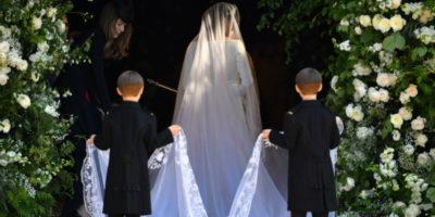Le foto dell'abito da sposa di Meghan Markle