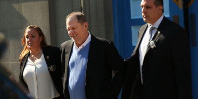 Harvey Weinstein è stato arrestato e poi liberato su cauzione a New York