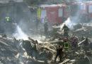 Almeno 15 persone sono morte a Nairobi, in Kenya, nell'incendio di un mercato