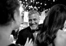 Erano in tantissimi, alla consegna del premio alla carriera a George Clooney