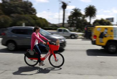 Uber porta il suo servizio di bike sharing JUMP in Europa