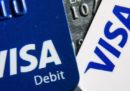 Ieri ci sono stati molti problemi con le carte di credito Visa