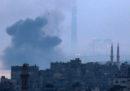 Israele ha attaccato alcuni obiettivi nella Striscia di Gaza in risposta a un lancio di razzi