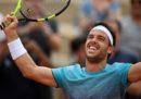 Marco Cecchinato si è qualificato ai quarti di finale del Roland Garros dopo aver battuto il belga David Goffin