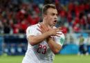 La FIFA ha multato tre giocatori della Svizzera per le esultanze durante la partita con la Serbia