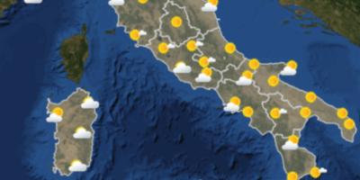 Le previsioni meteo per domani, domenica 3 giugno