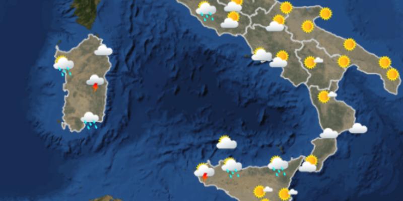 Le previsioni meteo per domani |  domenica 24 giugno