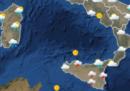 Le previsioni meteo per lunedì 25 giugno