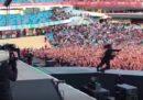Dave Grohl ha fatto uno scherzone ai suoi fan svedesi