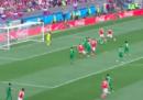 Il primo gol dei Mondiali in Russia