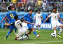 Il Brasile ha battuto per 2 a 0 il Costa Rica ai Mondiali