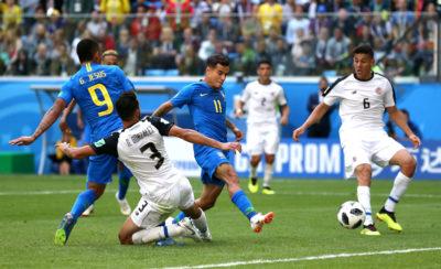 MONDIALI, Il Brasile affonda il Costa Rica nel finale