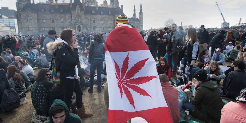 Il Canada ha legalizzato la marijuana per uso ricreativo