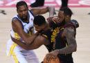 Come vedere in tv e in streaming gara-2 della finali NBA tra Golden State Warriors e Cleveland Cavaliers