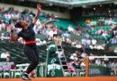 Serena Williams si è ritirata dal Roland Garros per infortunio