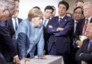 Il G7 in Canada in una foto