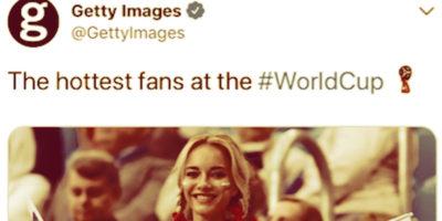 """Getty Images ha cancellato una galleria con """"le tifose più sexy dei Mondiali"""""""