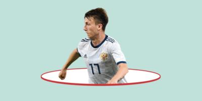 I Mondiali di Aleksandr Golovin