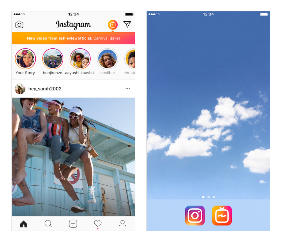 Instagram lancia IGTV, con video fino a 1 ora