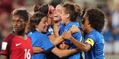 La Nazionale di calcio femminile si è qualificata ai Mondiali