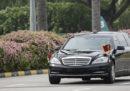 Kim Jong-un è arrivato a Singapore, dove martedì incontrerà Donald Trump