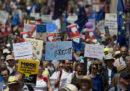 Le foto della marcia contro Brexit, a Londra