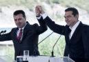 Grecia e Macedonia hanno firmato un accordo sul nuovo nome della Macedonia