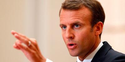 Macron: «l'Italia non sta vivendo una crisi migratoria»