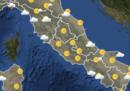 Le previsioni meteo per martedì 12 giugno
