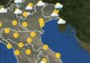 Le previsioni del tempo per domani, domenica 10 giugno