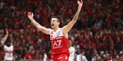 L'Olimpia Milano ha vinto il campionato italiano di basket maschile