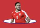 I Mondiali di Aleksandar Mitrovic
