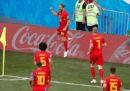 Belgio-Panama, del Gruppo G dei Mondiali, è finita 3-0