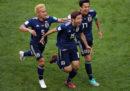 Il Giappone ha battuto 2-1 la Colombia nella prima partita del Gruppo H