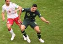 Danimarca e Australia hanno pareggiato 1-1 nel secondo turno dei Mondiali